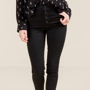 Harper Heritage High Rise Skinny button fly